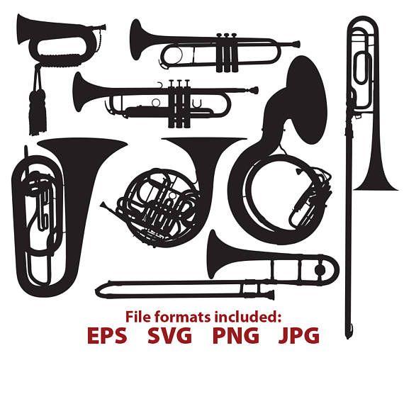 570x570 Brass Instruments, Trumpet, Sousaphone, Trombone, Bugle, Tuba