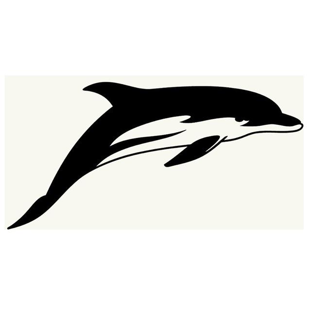 640x640 Car Styling Novelty Dolphin Silhouette Jdm Sticker Car Window