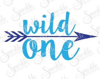 340x270 Mild One Wild One Cut File Best Friend Bestie Arrow Tribal