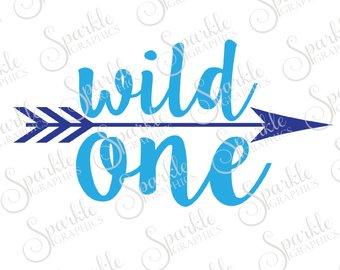 340x270 Mild One Wild One Cut File Best Friend Bestie Arrow Tribal