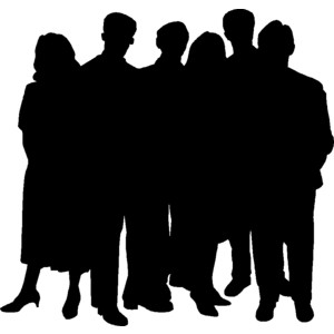 300x300 Person Silhouette Clip Art Free People Polyvore Clipart Image