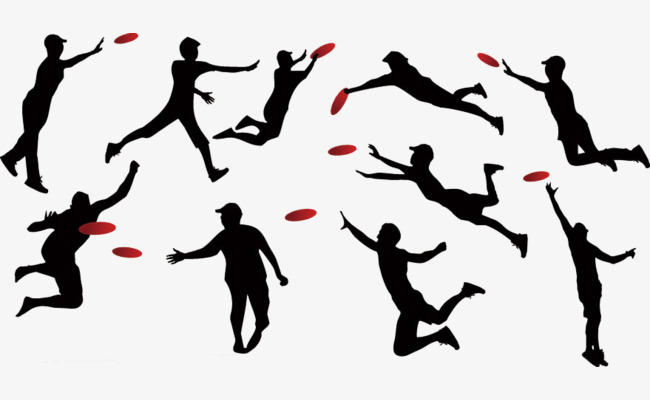 650x400 Frisbee Silhouette Clip Art, Movement, Flying Disk, Play Png Image