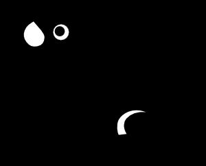 300x242 Frog Silhouette Clip Art Free Vector 4vector
