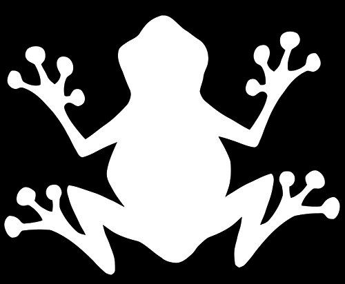 500x412 Tree Frog Decal, Frog Silhouette Decal, Tree Frog Sticker, Vinyl