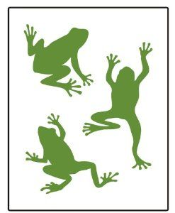 247x300 Frog Stencil