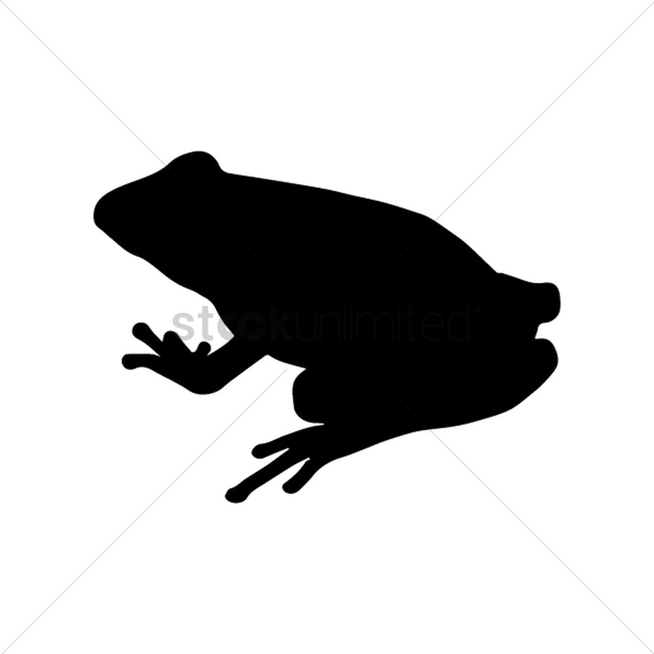 1300x1300 Frog Vector Image