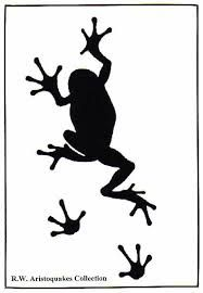 187x270 Vector Frog Silhouette On The White Background By Zara's Gallery