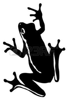 236x354 FROG SILHOUETTE VECTOR Animal Vectors Pinterest Frogs