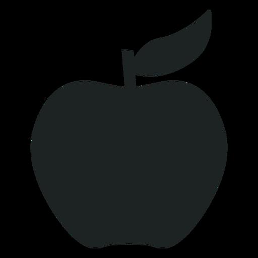 512x512 Apple Silhouette Icon