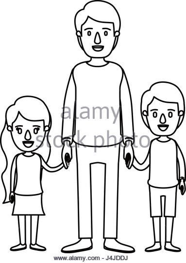 383x540 Silhouette Happy Father Little Girl Stock Photos Amp Silhouette