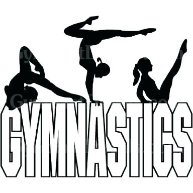 384x384 Custom Full Body Silhouette Gymnastics Not A Print Crayon Custom