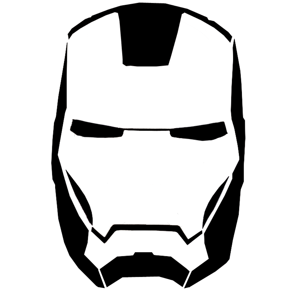 1000x1000 Iron Man Clipart Silhouette Collection