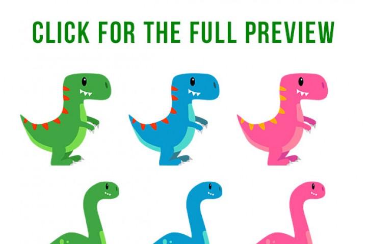 720x479 Cute Dino Clipart