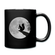 190x190 Moon Squirrels Full Moon Night Acorn By Rockitshirts Spreadshirt