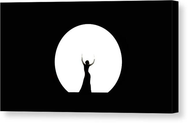 651x426 Full Moon Dance Canvas Print Canvas Art By Jenny Rainbow