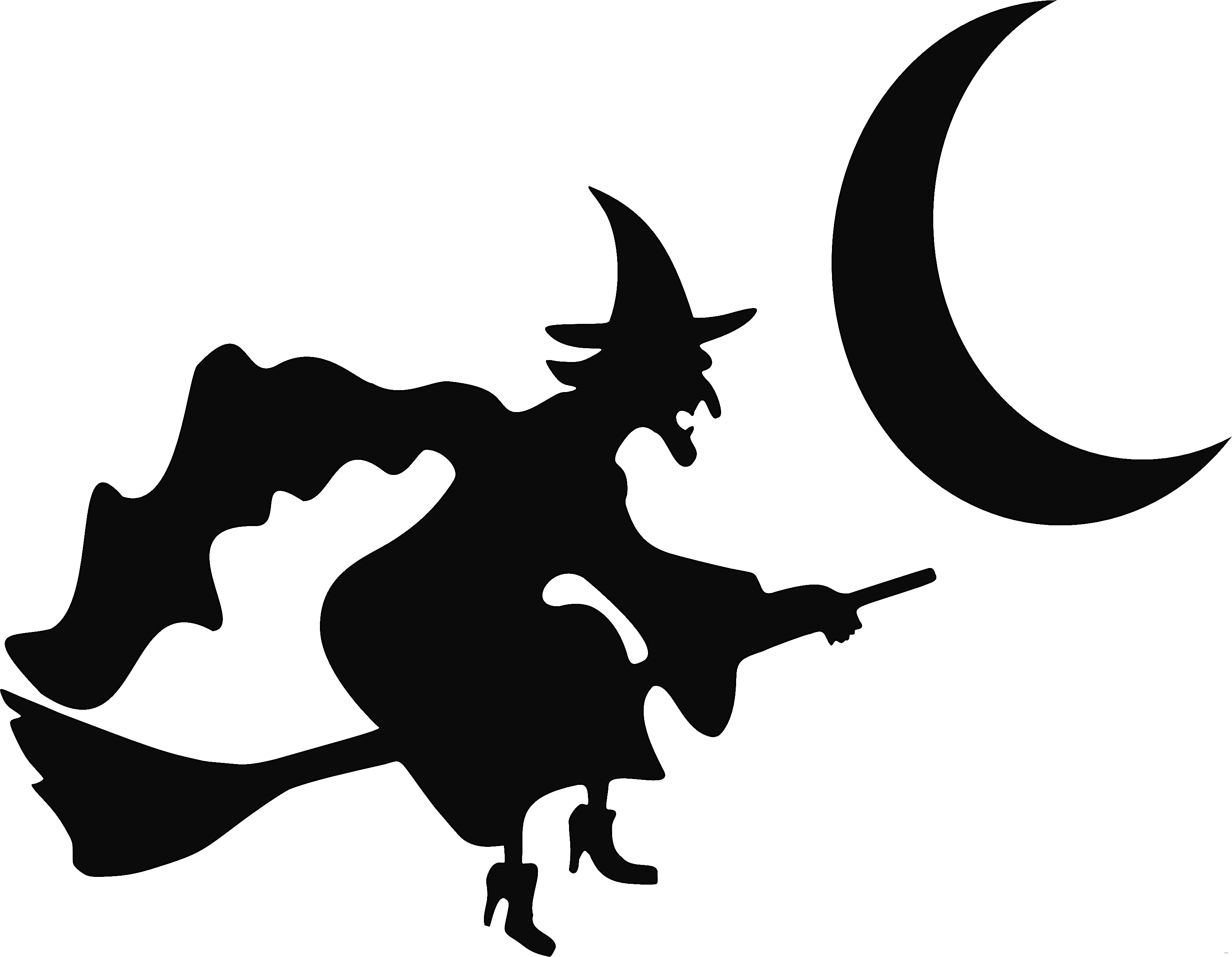 3200x2485 Halloween Window Silhouettes Template Enticing Capture Furniture
