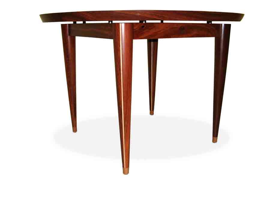 933x700 Silhouette Round Jarrah Table Fine Furniture Design Fine Art