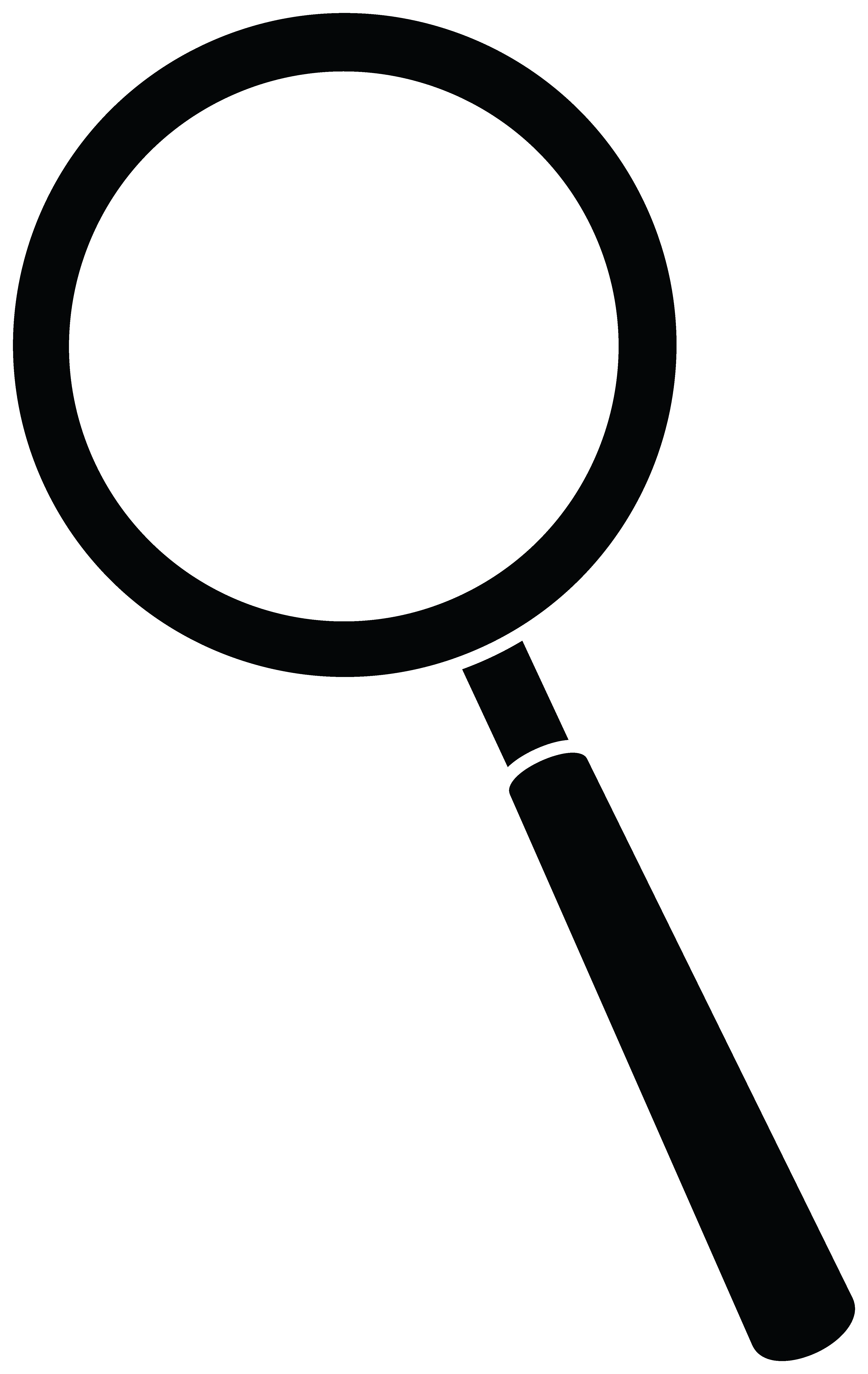 4166x6590 Magnifying Glass Silhouette Clipart Panda