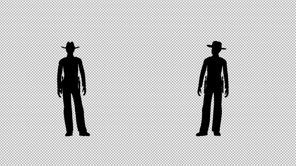 590x332 Cowboy Silhouette By Handrox G Videohive