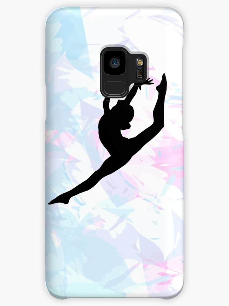 750x1000 Water Colour Gymnastics Silhouette Cases Amp Skins For Samsung