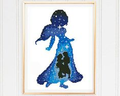 235x187 Disney Princess Silhouette Galaxy Disney Princess Silhouette