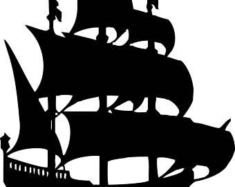 340x270 Vintage Nautical Ship Galleon English Historical China