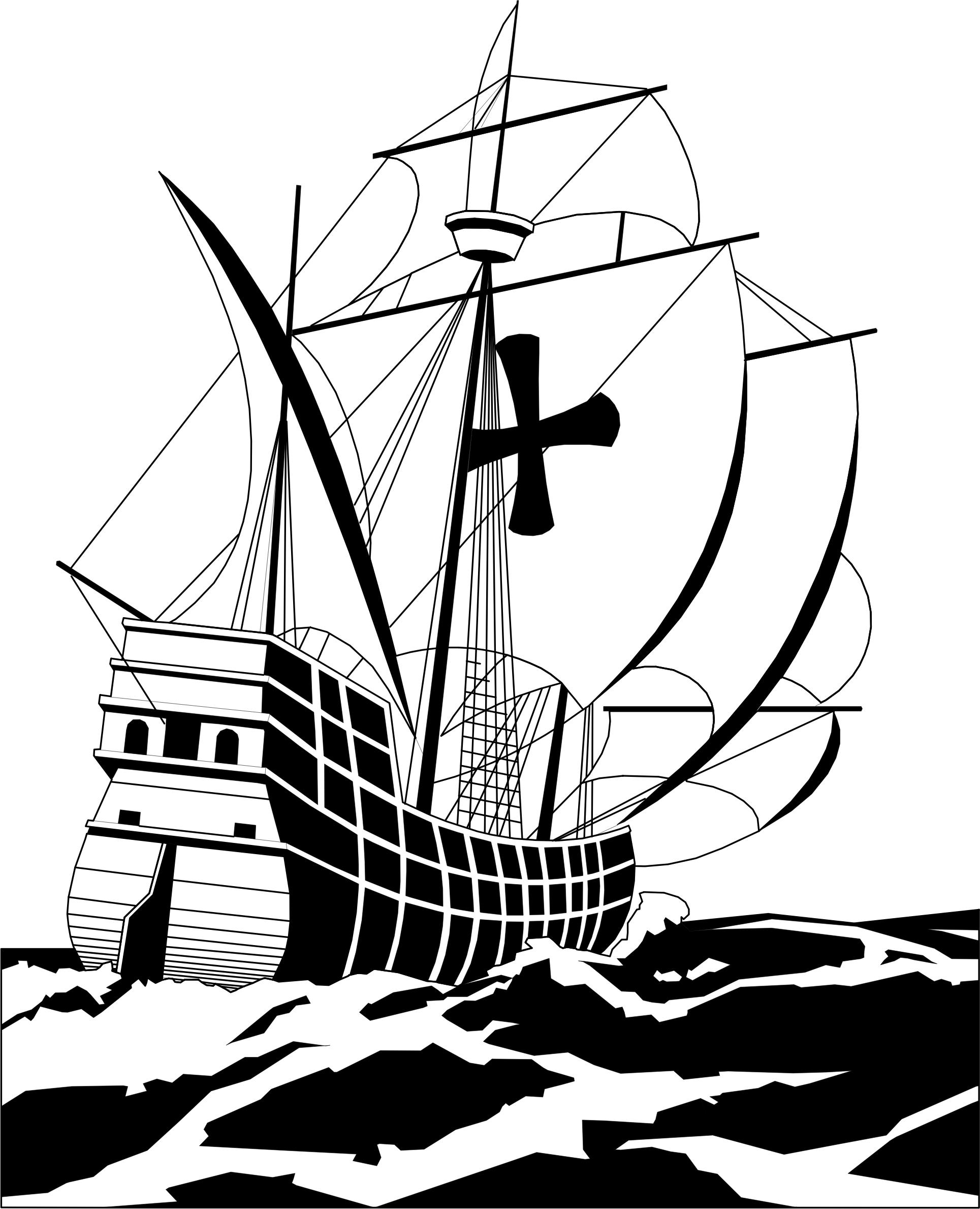 1929x2378 Spanish Galleon Icons Png