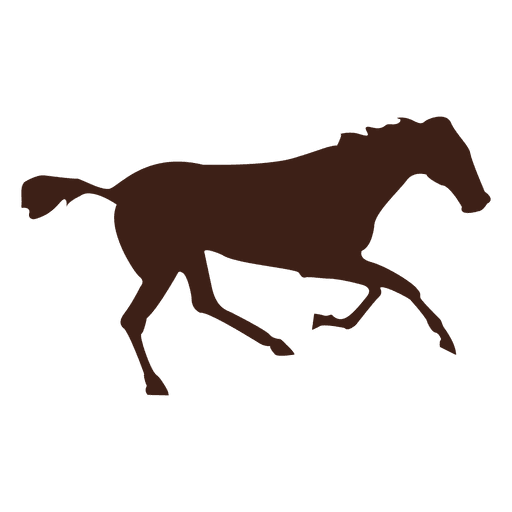 512x512 Horse Galloping Motion Sequence Silhouettes