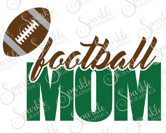 570x456 Football Mom Cut File Football Mom Sports Football Game Mother