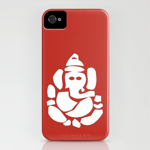 570x570 Lord Ganesh Silhouette On Phone Case Ganesha Hindu God