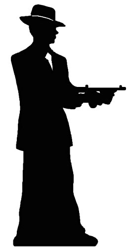 263x500 Gangster Silhouette (Single Pack)