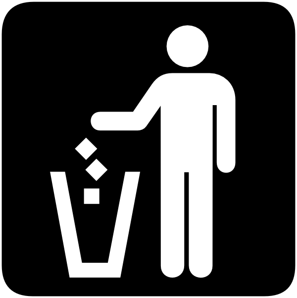 600x601 Garbage Can Clip Art