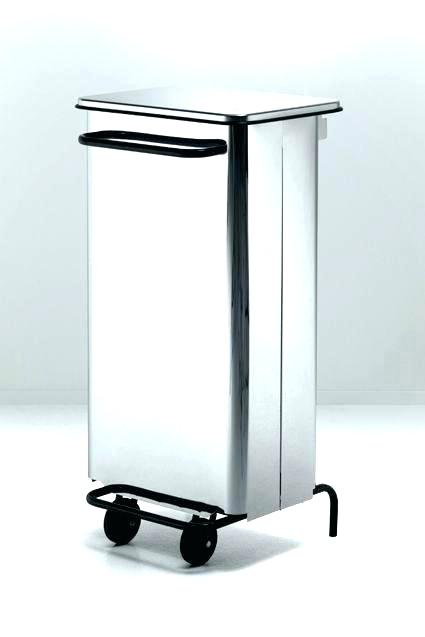 425x637 Modern Trash Can Silhouette Series Square Trash Cans Modern Trash