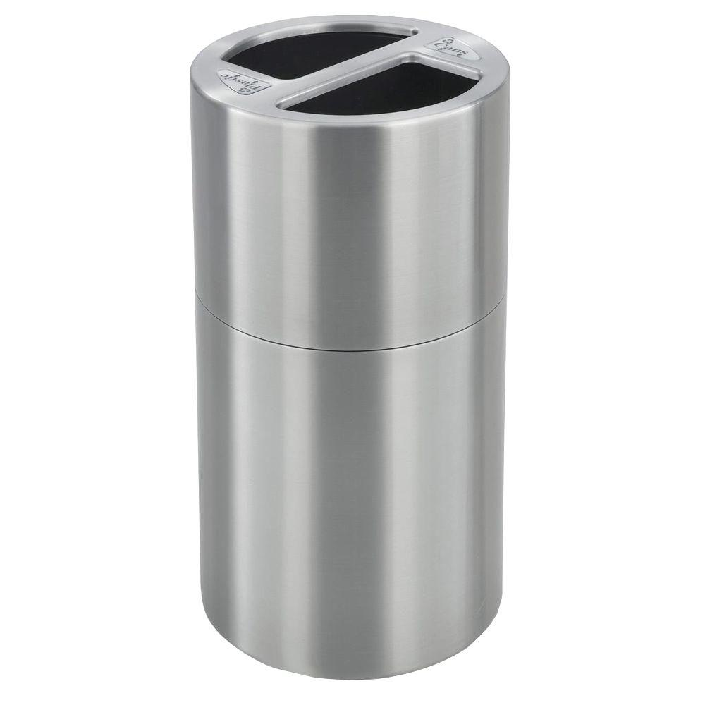1000x1000 Safco 30 Gal. Dual Recycling Receptacle Commercial Trash Can
