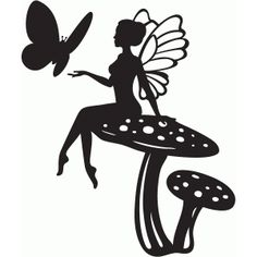 236x236 Pictures Free Fairy Silhouettes Patterns,
