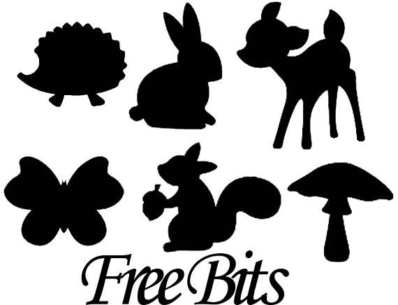 570x436 Gnomes Amp Toadstools Die Cut Silhouette