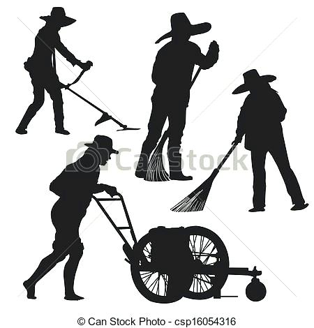 450x470 Gardening Silhouette Black Icon With Sun And Gardening Tools
