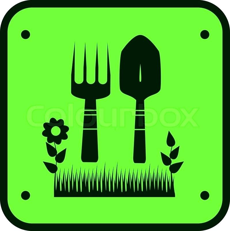 799x800 Garden Silhouette Set Of Garden Tool Silhouettes Man Made Objects