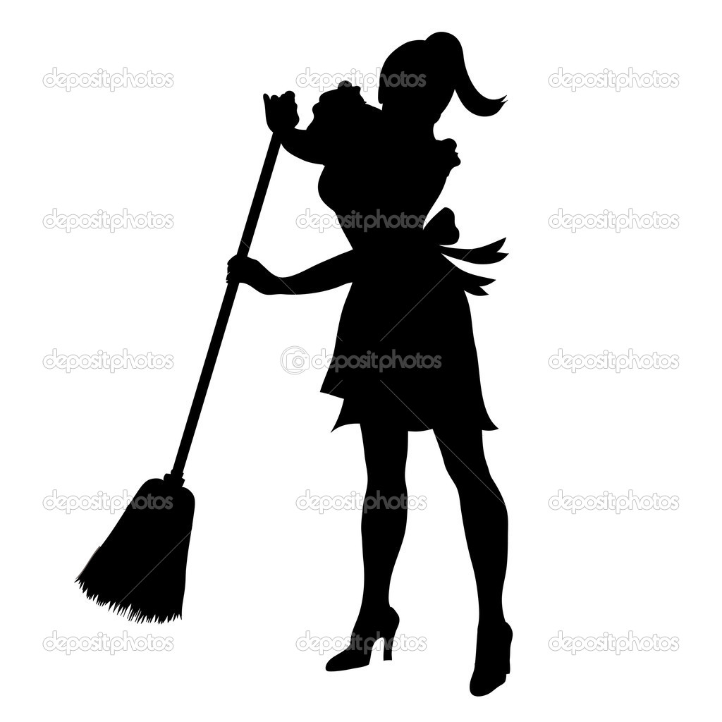 1024x1024 Maid Clipart Depositphotos 7296637 Cliprt Illustration