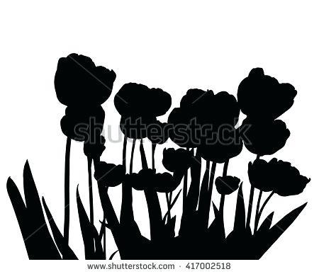 450x387 Silhouette Garden Black Caroling Silhouette Garden Silhouette