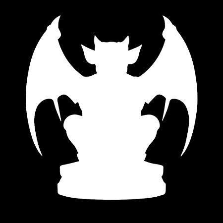 Gargoyle Silhouette