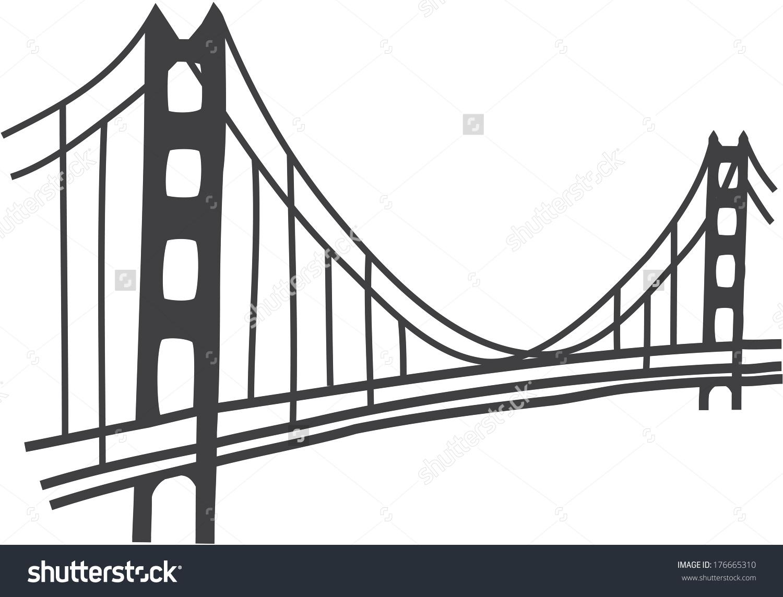 1500x1144 Clip Art Clip Art Golden Gate Bridge