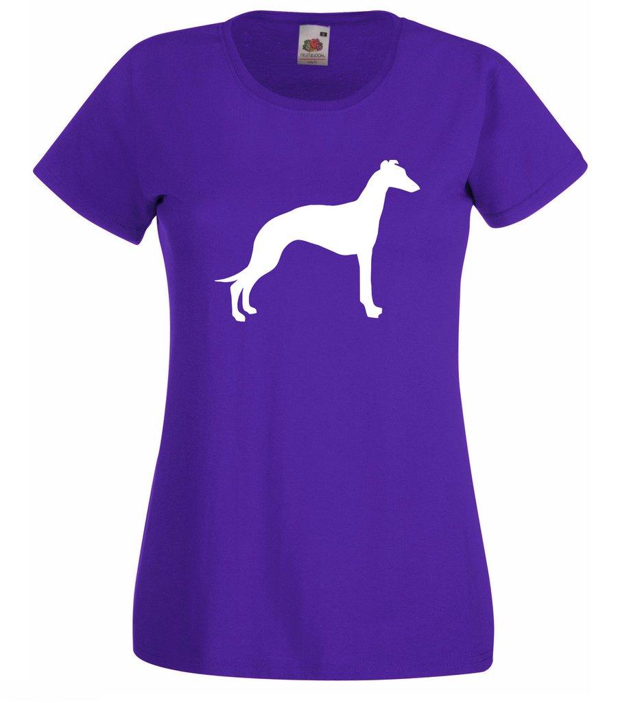 901x1024 Womens Greyhound Whippet T Shirt Tiger Prints