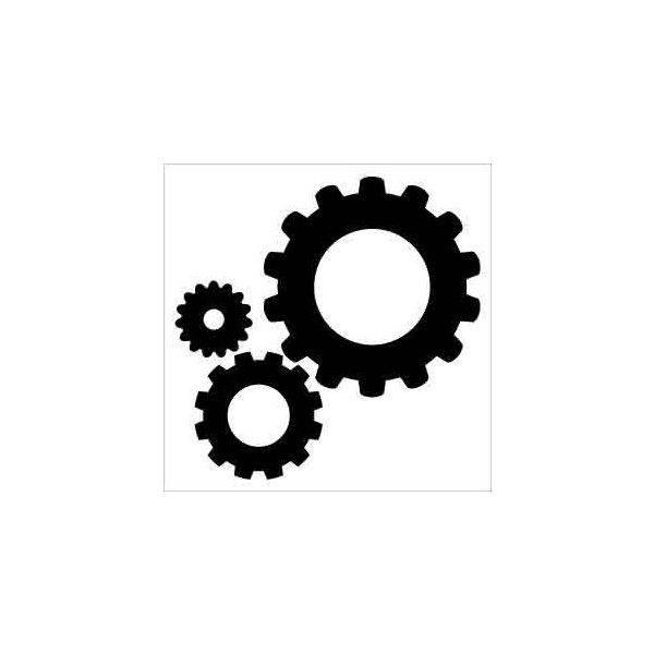 600x600 Gear Silhouette Clip Art Found On Polyvore Art