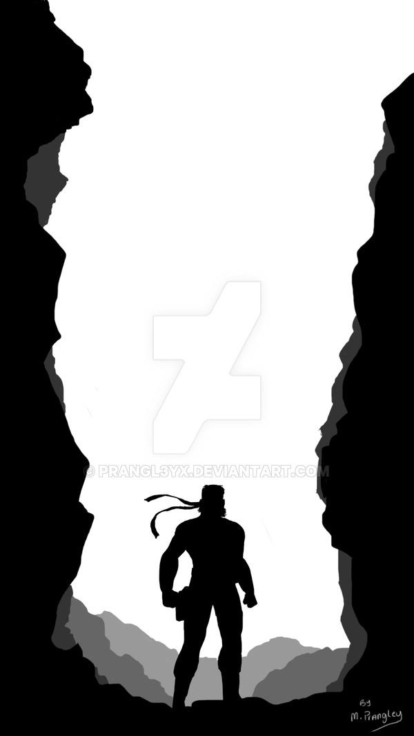 600x1067 Metal Gear Solid Silhouette Work In Progress By Prangl3yx