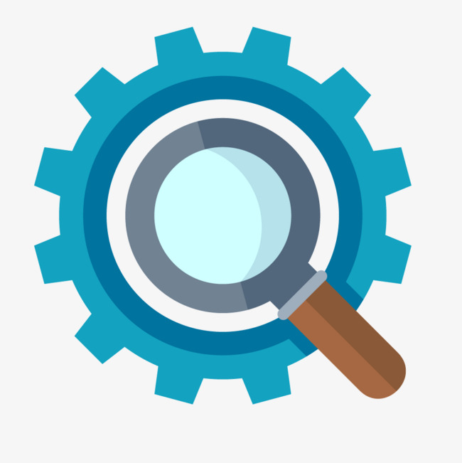 650x651 Blue Circular Gears Magnifier, Blue, Round, Gear Png And Vector