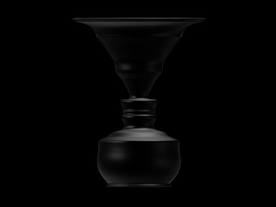 906x680 George Washington Silhouette Vase