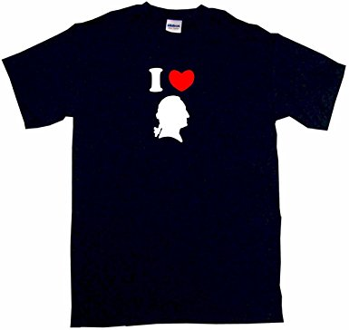 385x364 I Heart Love George Washington Silhouette Women'S