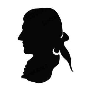 310x310 United States George Washington Silhouette Portrait Symbols