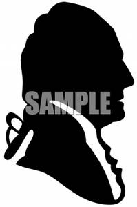 199x300 Clipart Picture Of George Washington In Silhouette